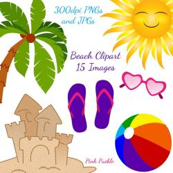 Travel clipart beach item