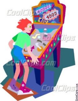 Pinball clipart pinball machine