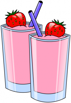 Smoothie clipart milkshake