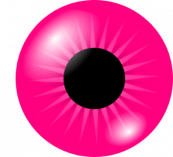 Pink Eyes clipart