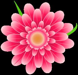 Gerbera clipart hot pink flower