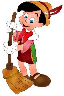 Pinocchio clipart sad