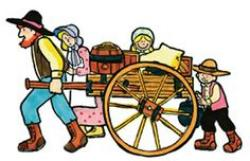 Pioneer clipart early