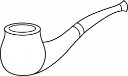 Tobacco clipart smoking pipe