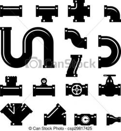 Pipeline clipart icon