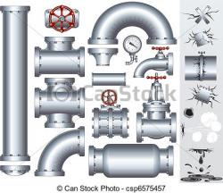 Pipe clipart gas pipeline