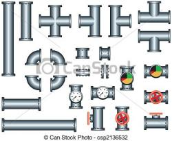 Pipeline clipart plumbing pipe