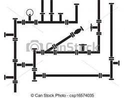 Pipeline clipart vector
