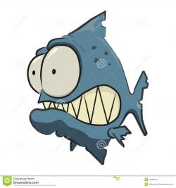 Piranha clipart cartoon