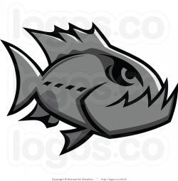 Piranha clipart tribal