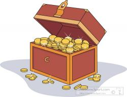 Treasure clipart money
