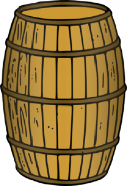 Barrel clipart wooden barrel