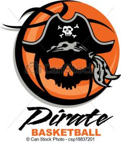 Pirate clipart basketball