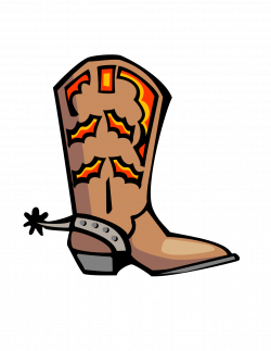 Boots clipart country boot