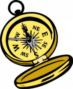 Pirate clipart compass