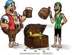 Pirate clipart drinking
