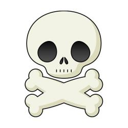 Ssckull clipart friendly