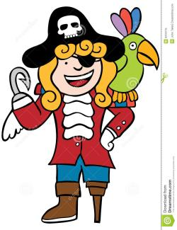 Pirate clipart friendly