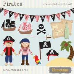 Pirate clipart item