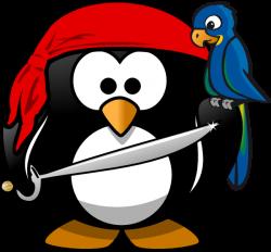 Pirate clipart penguin