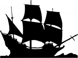 Caravel clipart pirate ship