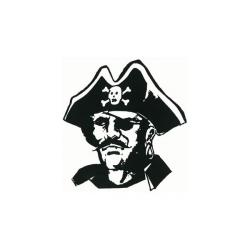 Pirates Of The Caribbean clipart black and white