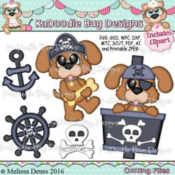 Pirate clipart puppy