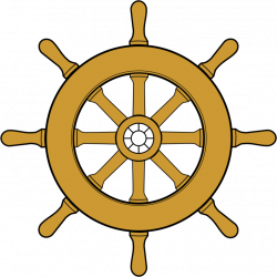 Pirate clipart steering