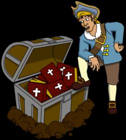 Treasure clipart bible
