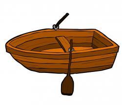 Row Boat clipart cartoon