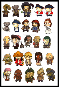 Pirates Of The Caribbean clipart carabian
