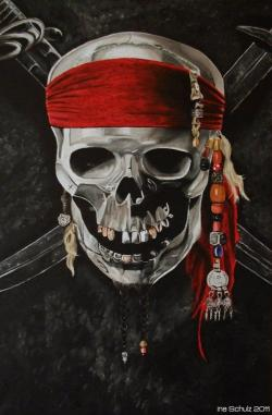 Pirates Of The Caribbean clipart pirate skeleton