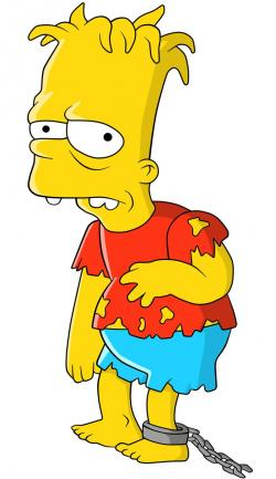 The Simpsons clipart bart simpson