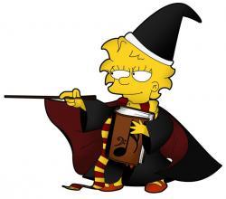 The Simpsons clipart lisa simpson