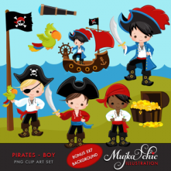 Pirates Of The Caribbean clipart treasure island