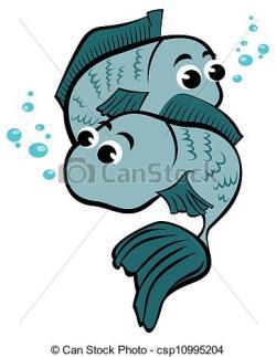 Pisces clipart cartoon