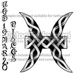 Pisces clipart celtic