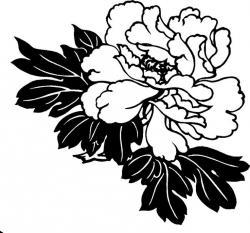 Bleach clipart black and white