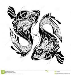 Pisces clipart polynesian