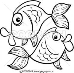 Pisces clipart vector