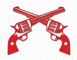 Pistol clipart cowboy gun