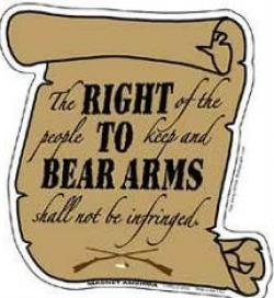 Pistol clipart right to bear arm