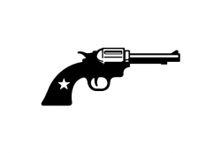 Pistol clipart six shooter