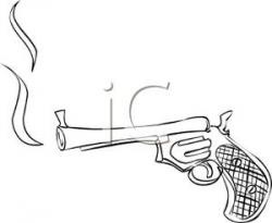 Smoking clipart gun smoke