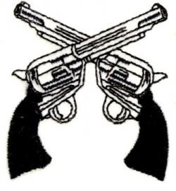 Sniper clipart two gun