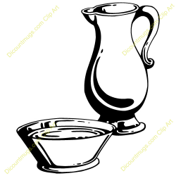 Pitcher clipart basin
