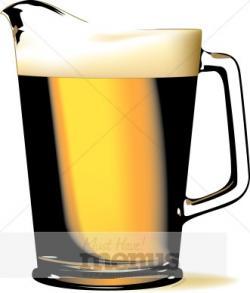 Foam clipart beer pitcher