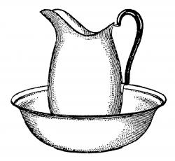 Pitcher clipart bowl