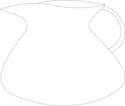 Pitcher clipart empty