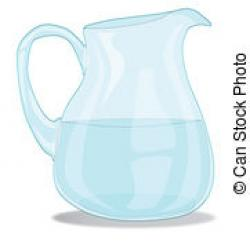 Pitcher clipart water jug